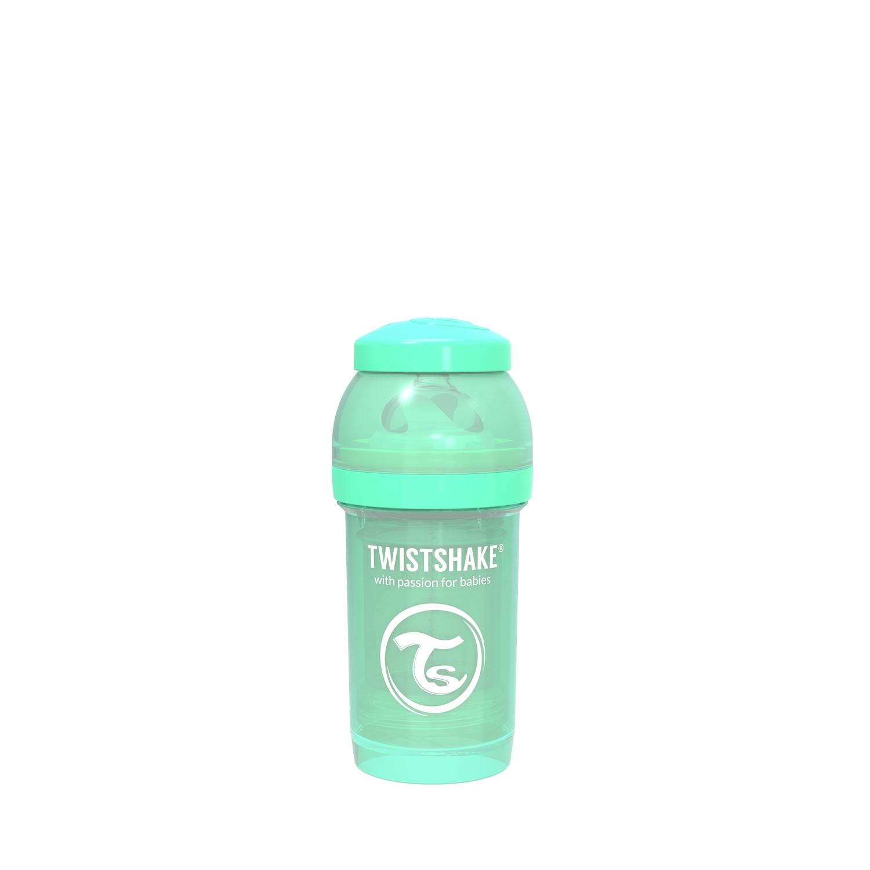 Mamadera Twistshake Anti-Colic 180ml Verde