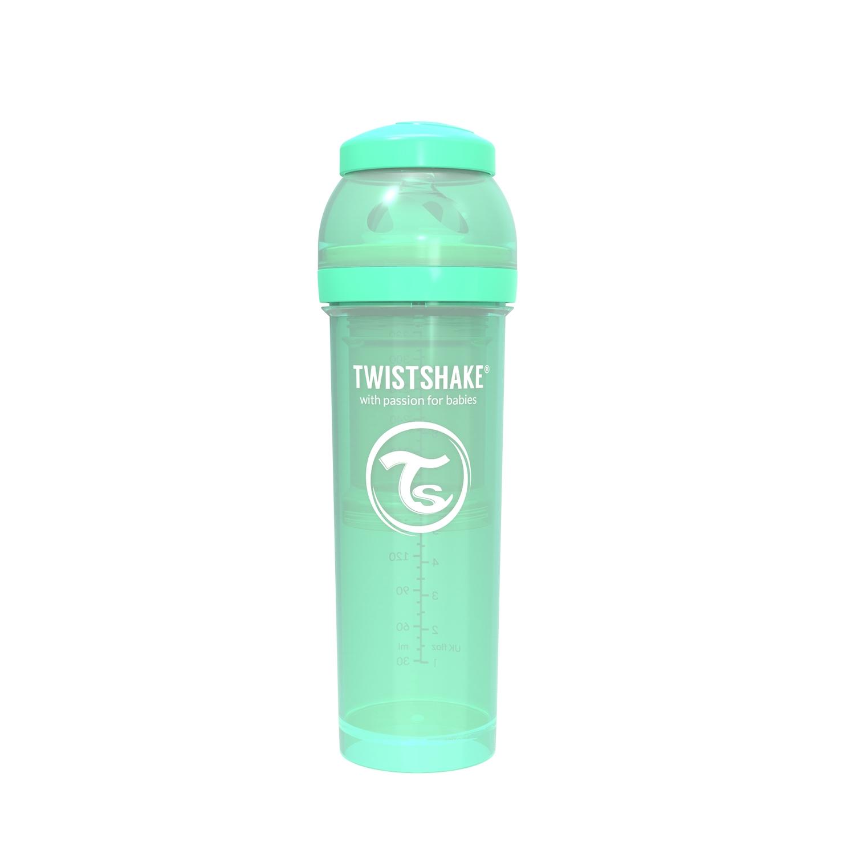 Mamadera Twistshake Anti-Colic 330ml Verde
