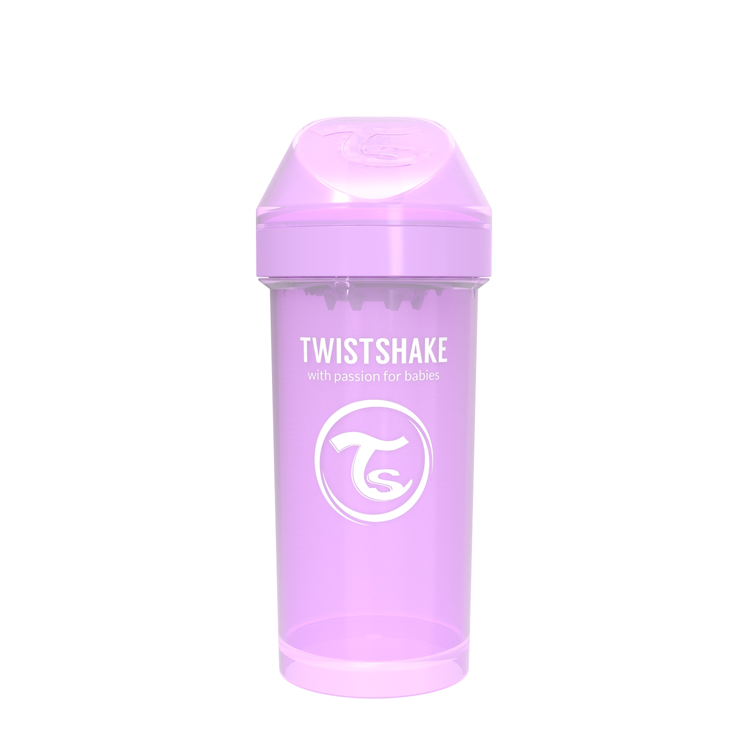 Vasos Twistshake Kid Cup 360ml 12 m Violeta