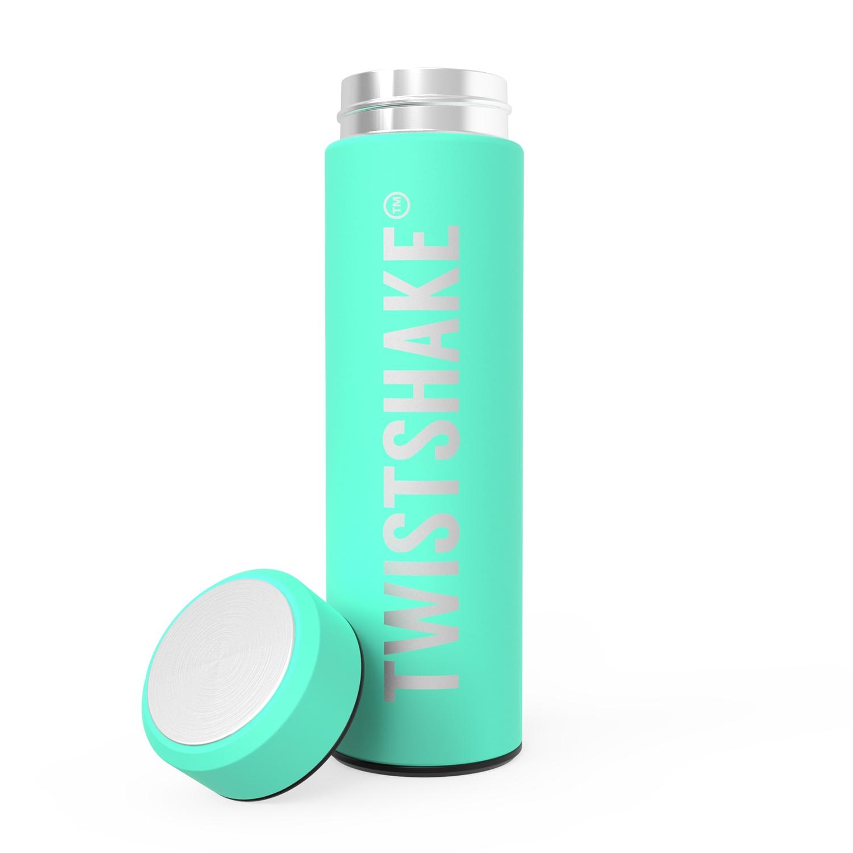 Termo Twistshake Hot or Cold Bottle 420ml Verde