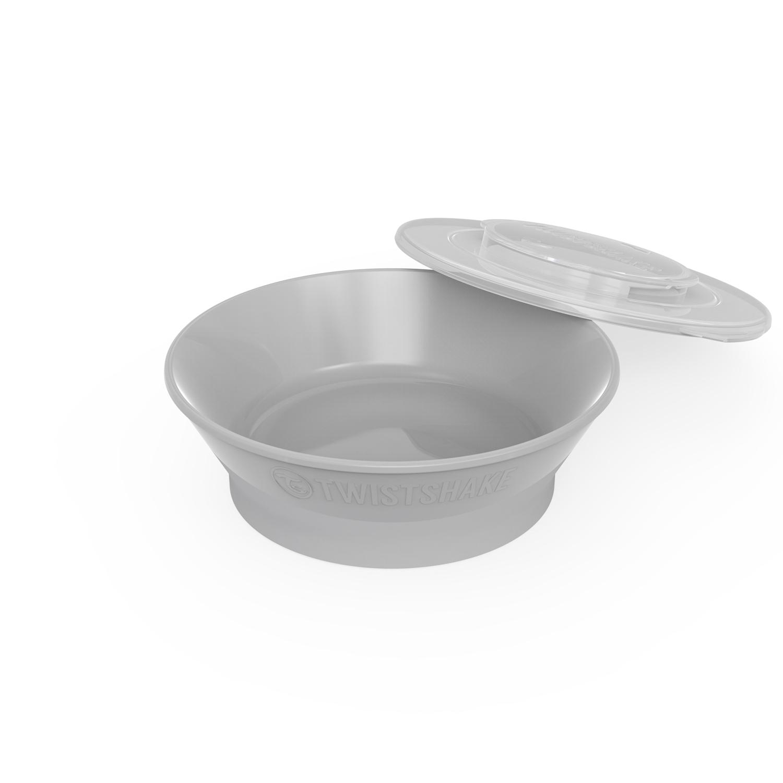 Plato Twistshake Bowl 6 m Gris Oscuro