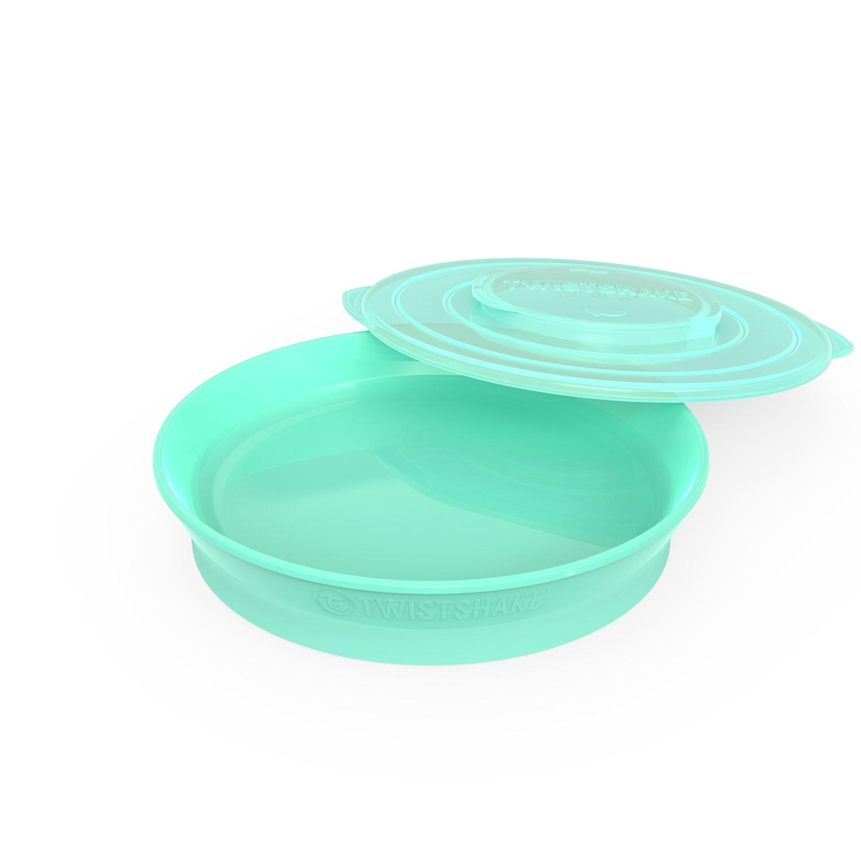 Plato Twistshake Plate 6 m Verde