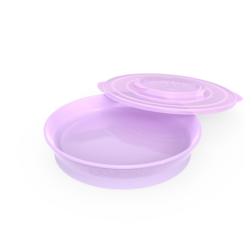 Plato Twistshake Plate 6 m Violeta