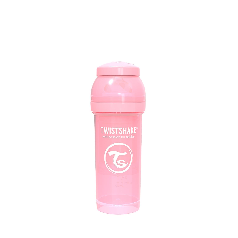 Mamadera Twistshake Anti-Colic 260ml Rosa
