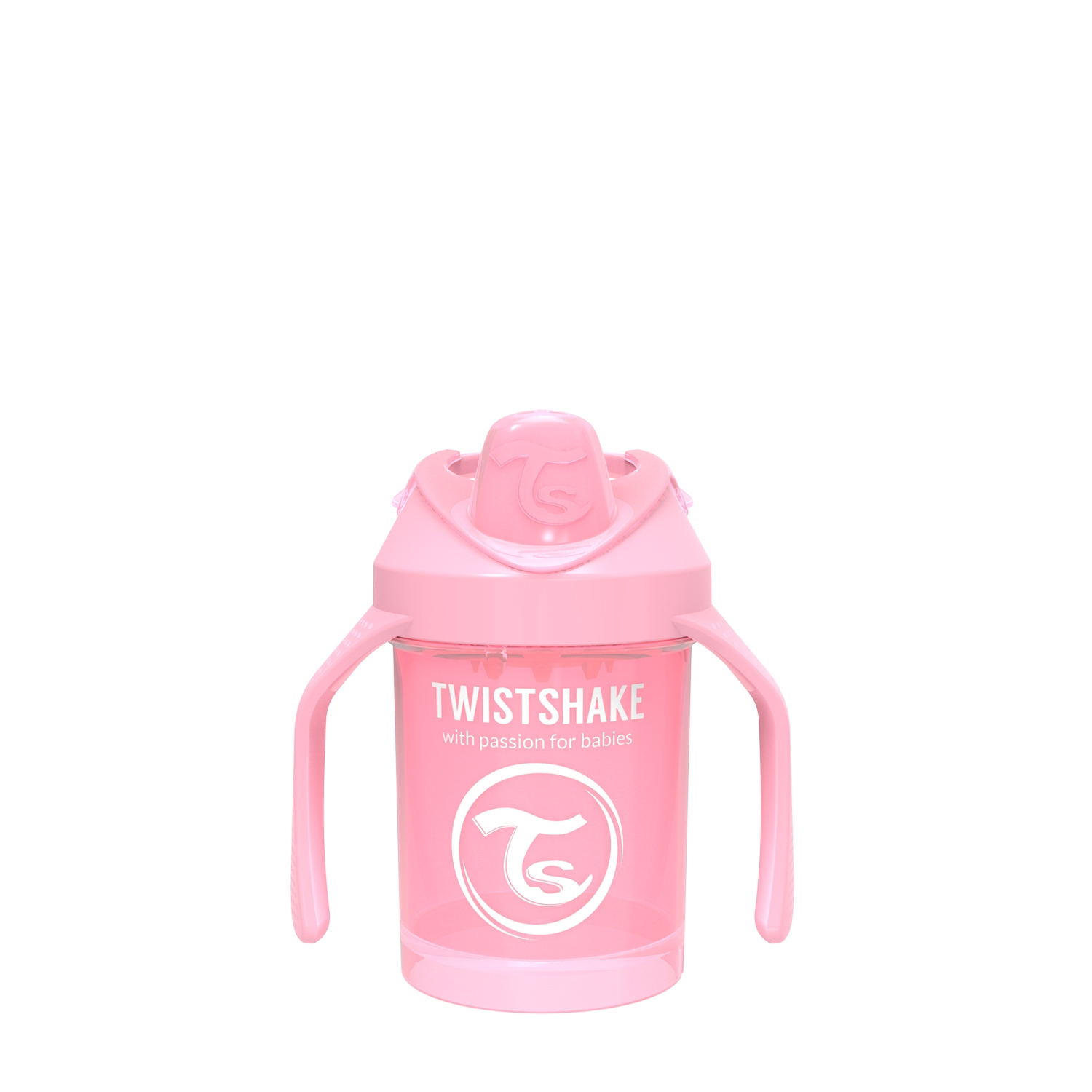 Vasos Twistshake Mini Cup 230ml 4 m Rosa