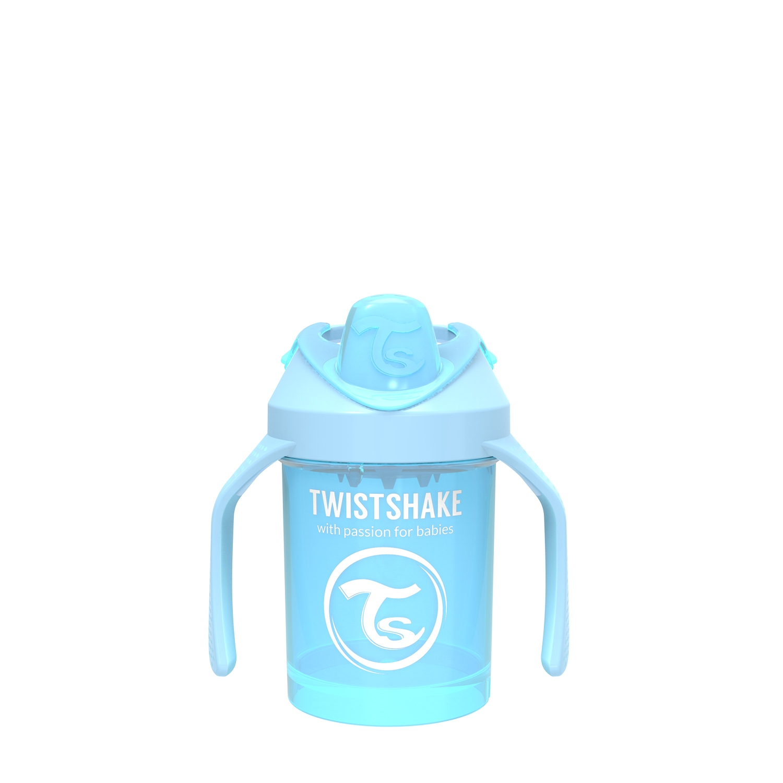 Vasos Twistshake Mini Cup 230ml 4 m Celeste