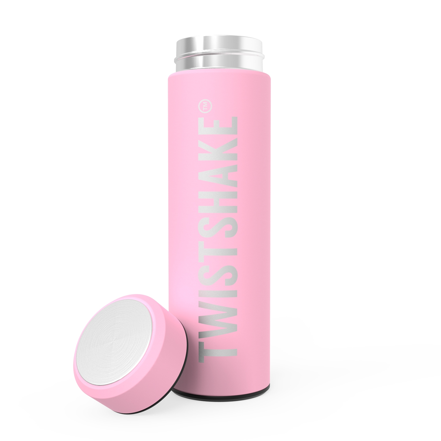Termo Twistshake Hot or Cold Bottle 420ml Rosa
