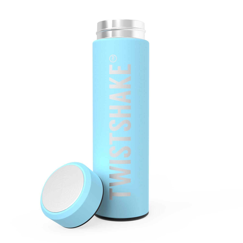 Termo Twistshake Hot or Cold Bottle 420ml Celeste